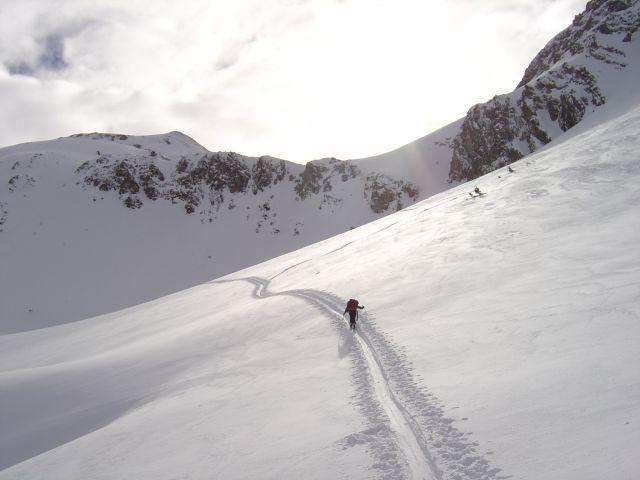 Foto: Manfred Karl / Ski Tour / Namloser Wetterspitze, 2553 m / Bei solchen Verhältnissen ist die Tour ein Genuss. / 28.03.2008 23:35:52