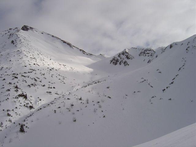 Foto: Manfred Karl / Ski Tour / Namloser Wetterspitze, 2553 m / Noch ein schönes Stück Weg ist es von hier aus. / 28.03.2008 23:34:20