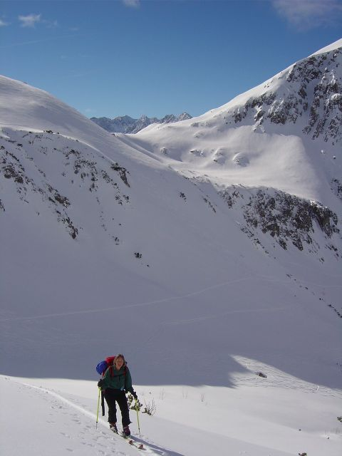 Foto: Manfred Karl / Ski Tour / Namloser Wetterspitze, 2553 m / Langsam weitet sich der Blick / 28.03.2008 23:33:22