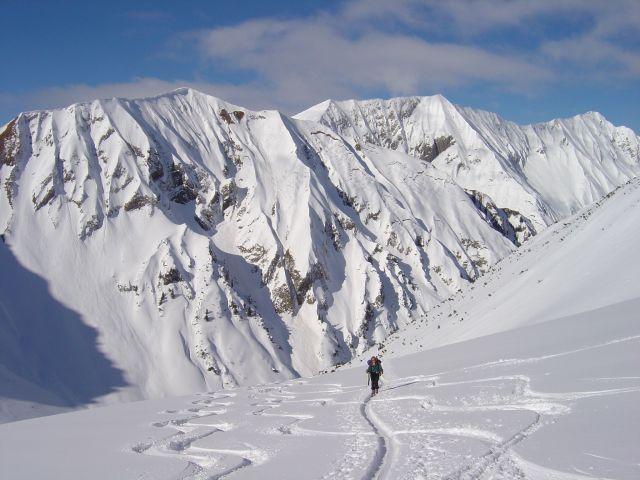 Foto: Manfred Karl / Ski Tour / Namloser Wetterspitze, 2553 m / Vorfreude kommt auf! / 28.03.2008 23:32:39