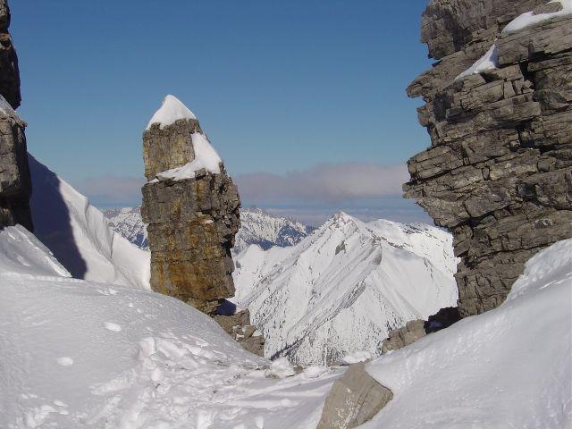 Foto: Manfred Karl / Ski Tour / Namloser Wetterspitze, 2553 m / Schartenmandl / 28.03.2008 23:32:09