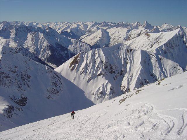 Foto: Manfred Karl / Ski Tour / Namloser Wetterspitze, 2553 m / Die letzten Meter / 28.03.2008 23:31:49