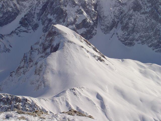 Foto: Manfred Karl / Ski Tour / Namloser Wetterspitze, 2553 m / Auch der Tschachaun ist ein schöner Schiberg. / 28.03.2008 23:29:54