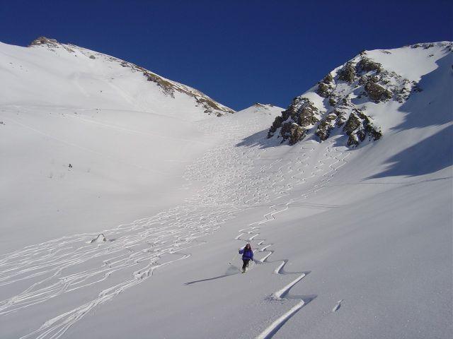 Foto: Manfred Karl / Ski Tour / Namloser Wetterspitze, 2553 m / Idealpulver / 28.03.2008 23:24:57