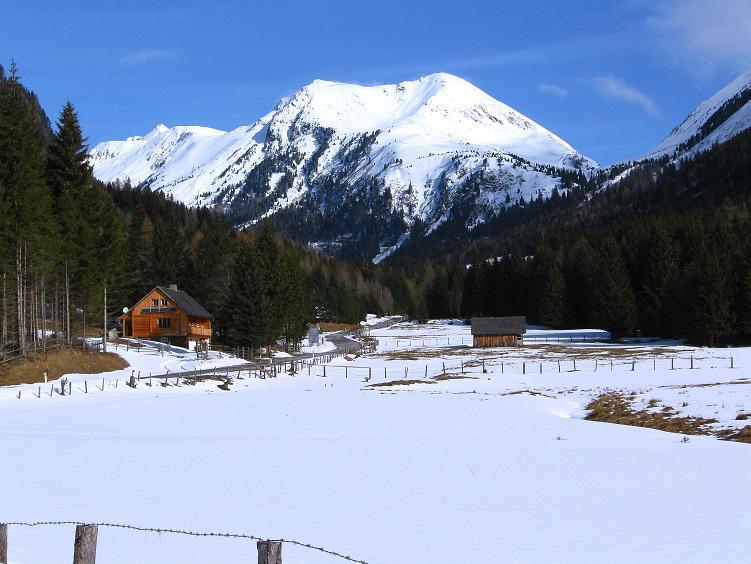 Foto: Andreas Koller / Ski Tour / Über die Zwieflerseen auf den Zinken (2191m) / Sölkpassstraße Südrampe / 31.03.2008 18:59:53