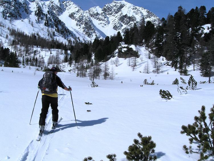 Foto: Andreas Koller / Ski Tour / Über die Zwieflerseen auf den Zinken (2191m) / Schöne Landschaft im hintersten Winkel / 31.03.2008 18:58:40
