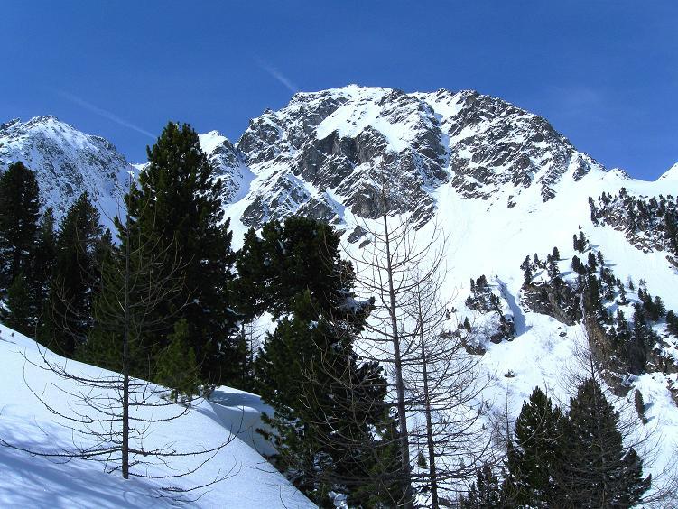 Foto: Andreas Koller / Ski Tour / Über die Zwieflerseen auf den Zinken (2191m) / Der Arkogel (2441 m) / 31.03.2008 18:56:40