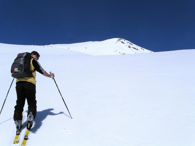 Foto: Andreas Koller / Ski Tour / Über die Zwieflerseen auf den Zinken (2191m) / Dem Zinken entgegen / 31.03.2008 18:49:06