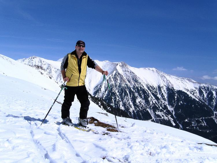 Foto: Andreas Koller / Ski Tour / Über die Zwieflerseen auf den Zinken (2191m) / Rast unterhalb der Zinken S-Flanke / 31.03.2008 18:43:22