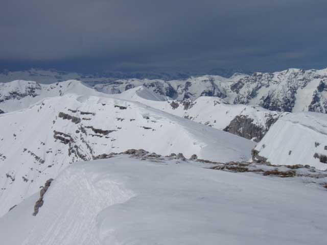 Foto: Grasberger Gerhard / Ski Tour / Warscheneck über Zellerschneise / Warscheneckgipfel / 30.04.2008 12:45:25