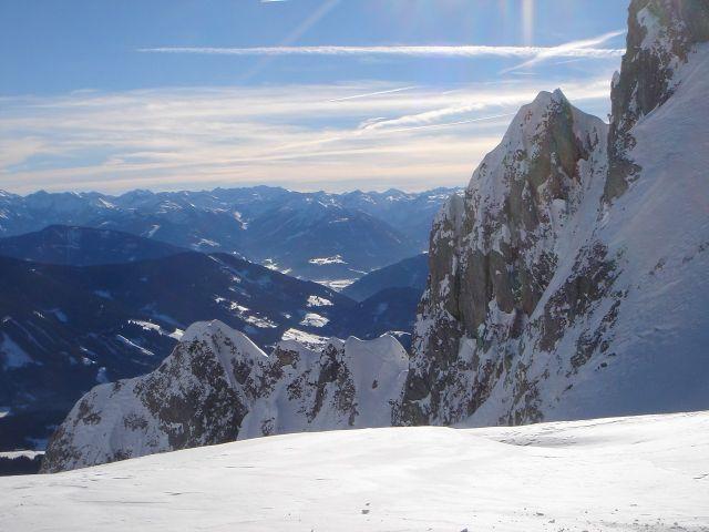 Foto: Manfred Karl / Ski Tour / Hochkarfelderkopf, 2219 m / Am Beginn des Schartenhanges / 04.04.2008 22:49:09