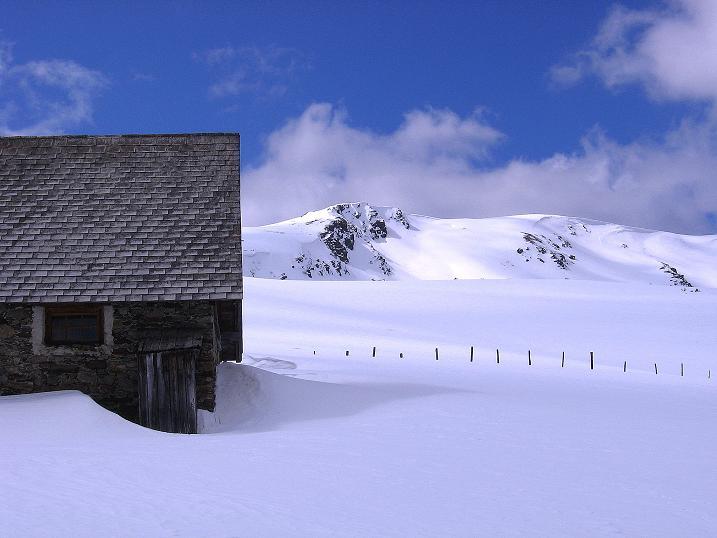 Foto: Andreas Koller / Ski Tour / Vom Bundschuh auf die Schwarzwand (2214 m) / Bruggeralm und Schwarzwand / 06.04.2008 23:47:07
