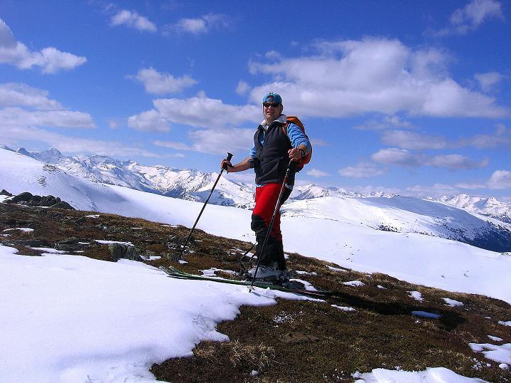 Foto: Andreas Koller / Ski Tour / Vom Bundschuh auf die Schwarzwand (2214 m) / Am Roten Riegel / 06.04.2008 23:38:40