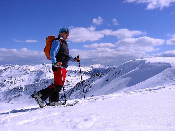 Foto: Andreas Koller / Ski Tour / Vom Bundschuh auf die Schwarzwand (2214 m) / Am Kamm dem Gipfel entgegen / 06.04.2008 23:35:57