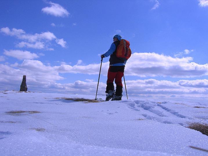 Foto: Andreas Koller / Ski Tour / Vom Bundschuh auf die Schwarzwand (2214 m) / Die letzten Meter zum Gipfel / 06.04.2008 23:35:00
