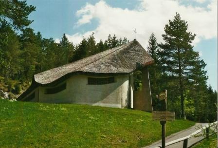 Foto: Wolfgang Dröthandl / Wander Tour / Spazierrunde durch die Walstern bei Mariazell / Bruder Klaus - Kirche / 23.05.2013 16:23:12