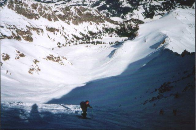 Foto: Manfred Karl / Ski Tour / Gaishorn (2247m) / Aufstieg über den Gipfelhang / 13.04.2008 07:05:53