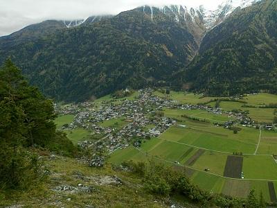 Foto: tonschi / Mountainbike Tour / Nachberg (Route: 550 MTB Tour tiris) / Bick vom Nachberg Richtung Rietz / 20.11.2011 15:14:17