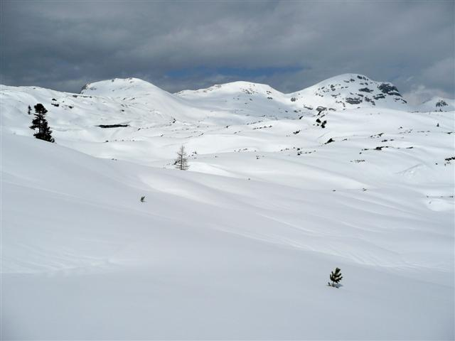 Foto: Manfred Karl / Ski Tour / Kahlersberg (2350m) / Hochseelein-, Schlum- und Windschartenkopf, dahinter führt die Kleine Reib´n entlang. / 18.04.2008 23:45:47