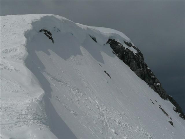 Foto: Manfred Karl / Ski Tour / Kahlersberg (2350m) / Die zweite Einfahrtsmöglichkeit / 18.04.2008 23:41:54