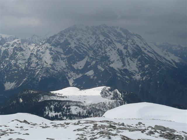 Foto: Manfred Karl / Ski Tour / Kahlersberg (2350m) / Watzmann und Gotzenalm vom Kahlersberg / 18.04.2008 23:39:12