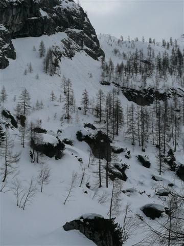 Foto: Manfred Karl / Ski Tour / Kahlersberg (2350m) / Reinersbergbrückerl / 18.04.2008 23:32:58