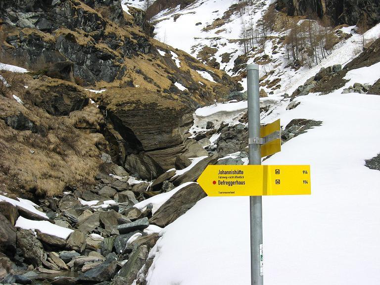 Foto: Andreas Koller / Ski Tour / Haute Route am Venediger (3674 m) / Unfehlbar die Route zur Johannishütte / 21.04.2008 15:22:55