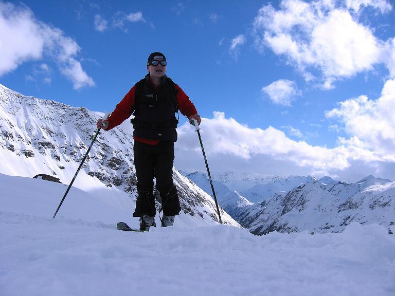 Foto: Andreas Koller / Ski Tour / Haute Route am Venediger (3674 m) / Aufstieg Johannishütte - Defregger Haus / 21.04.2008 15:21:35