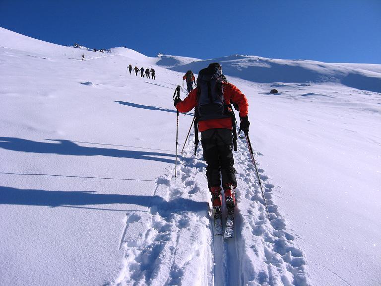 Foto: Andreas Koller / Ski Tour / Haute Route am Venediger (3674 m) / Anstieg auf das Mullwitzaderl / 21.04.2008 15:17:58