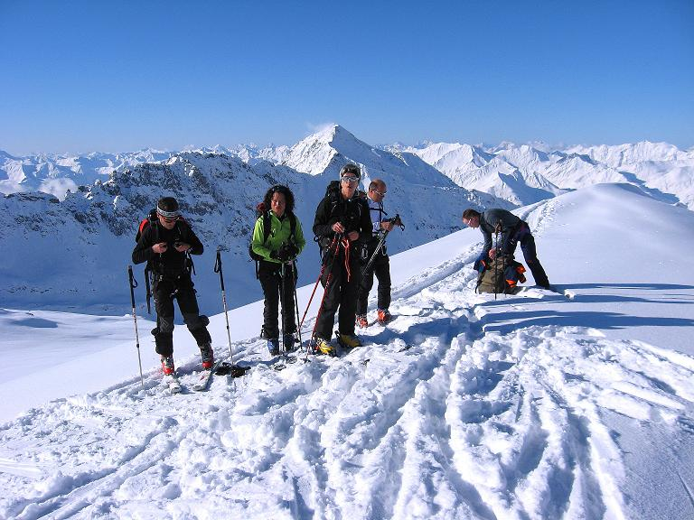 Foto: Andreas Koller / Ski Tour / Haute Route am Venediger (3674 m) / Am Mullwitzaderl, bevor man auf das Rainerkees quert / 21.04.2008 15:16:54