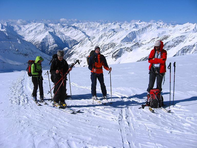 Foto: Andreas Koller / Ski Tour / Haute Route am Venediger (3674 m) / Am Rainertörl / 21.04.2008 15:12:45