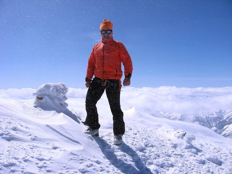 Foto: Andreas Koller / Ski Tour / Haute Route am Venediger (3674 m) / Weite Aussicht auch vom Rainerhorn / 21.04.2008 15:07:43