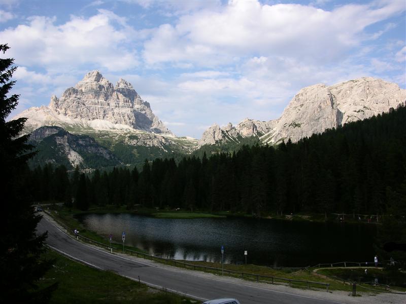 Foto: Bernhard Berger / Rad Tour / Mit dem Rennrad rund um die Sextener Dolomiten / Drei Zinnen / 22.04.2008 16:19:51