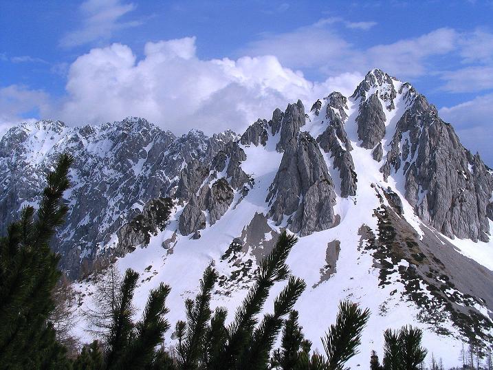Foto: Andreas Koller / Wander Tour / Durch die Nordwandrinne auf den Geißberg / Kosiak (2024m) / Vertatscha (2181 m) und Bielschitza (1959 m) / 06.05.2008 00:57:20