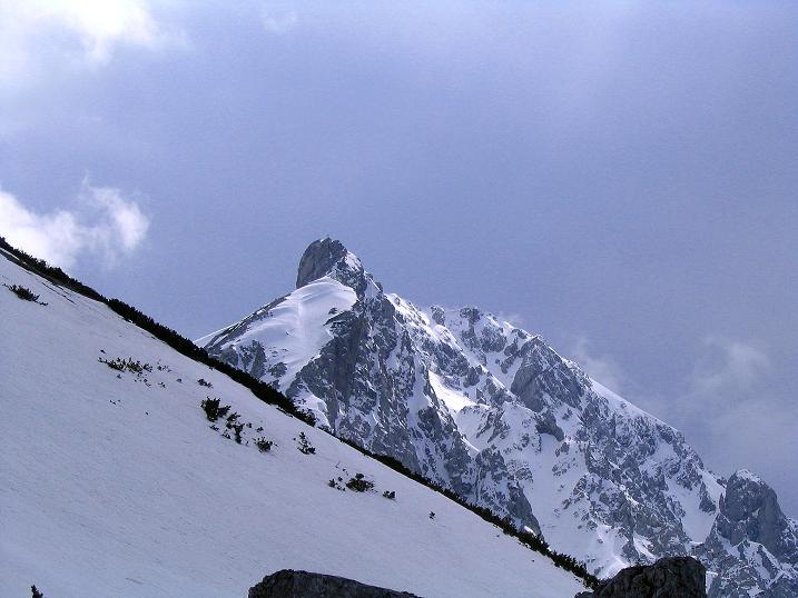 Foto: Andreas Koller / Wander Tour / Durch die Nordwandrinne auf den Geißberg / Kosiak (2024m) / Die Klagenfurter Spitze (2103 m) / 06.05.2008 00:38:22