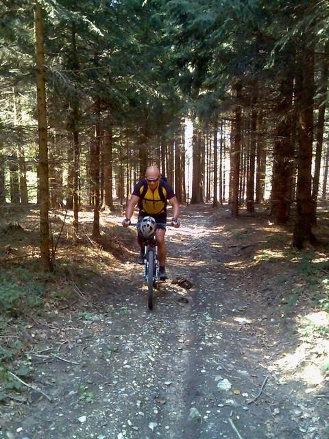 Foto: Jürgen Lindlbauer / Mountainbike Tour / Von Ottensheim auf die Giselawarte / Auffahrt von Neulichtenberg Richtung GIS / 06.05.2008 21:20:22