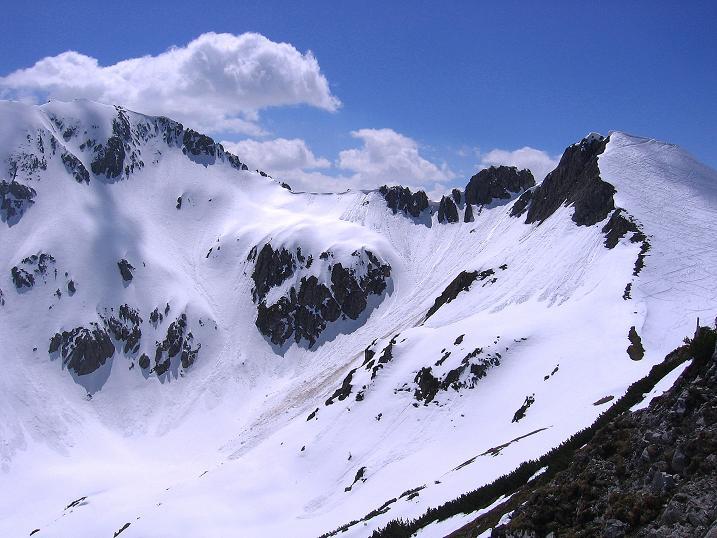 Foto: Andreas Koller / Wander Tour / Vom Zauchensee auf den Gamskogel (2186m) / Schwarzkopf (2263 m) und der Grat zur Steinfeldspitze / 16.05.2008 01:41:02