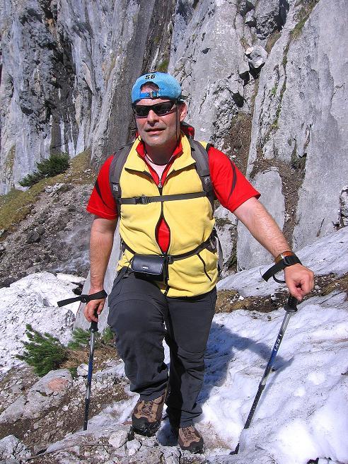 Foto: Andreas Koller / Wander Tour / Von Scheffau in das Schneekar (2121m) / Beim Wasserfall / 16.05.2008 02:23:30
