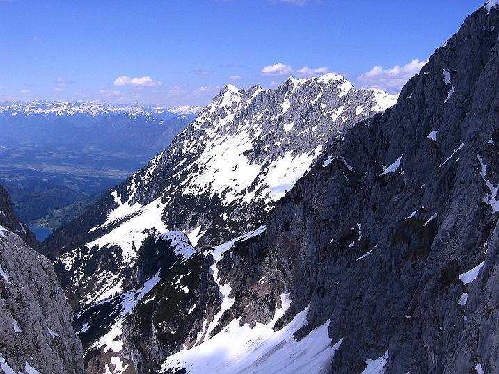 Foto: Andreas Koller / Wander Tour / Von Scheffau in das Schneekar (2121m) / Blick zum Scheffauer (2113 m) und zum Hintersteinersee / 16.05.2008 02:17:48