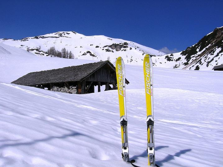 Foto: Andreas Koller / Ski Tour / Vom Zauchensee auf den Schwarzkopf (2263m) / Im Seekarkessel / 16.05.2008 03:03:02