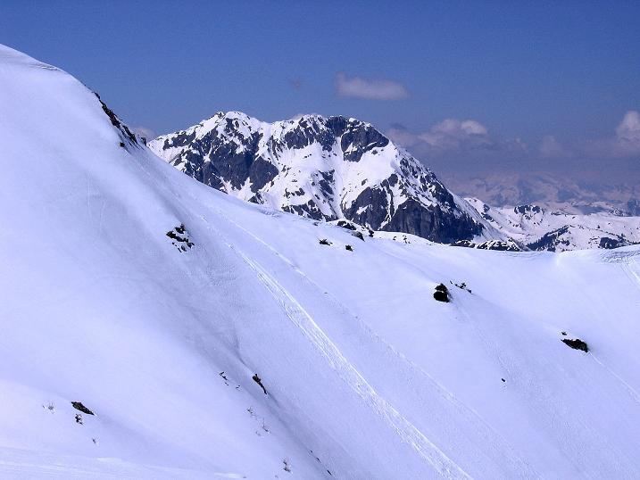 Foto: Andreas Koller / Ski Tour / Vom Zauchensee auf den Schwarzkopf (2263m) / Die Ennskraxen (2411 m) im W / 16.05.2008 03:00:59