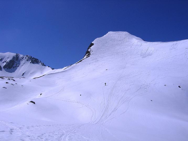 Foto: Andreas Koller / Ski Tour / Vom Zauchensee auf den Schwarzkopf (2263m) / Der Schwarzkopf / 16.05.2008 03:00:07