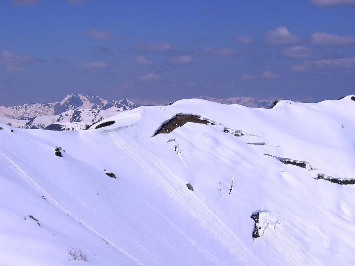 Foto: Andreas Koller / Ski Tour / Vom Zauchensee auf den Schwarzkopf (2263m) / Das Tagweideck (2135 m) / 16.05.2008 02:59:29