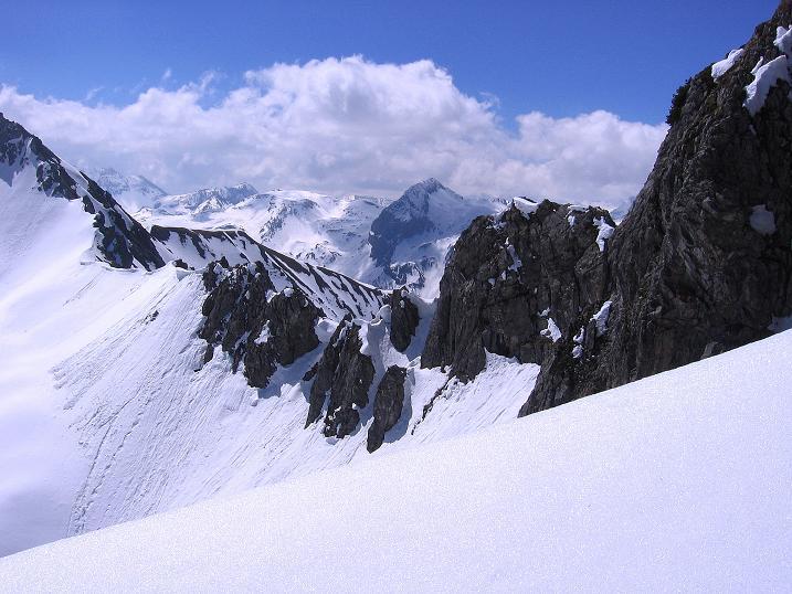 Foto: Andreas Koller / Ski Tour / Vom Zauchensee auf den Schwarzkopf (2263m) / Blick ins Herz der Radstädter Tauern / 16.05.2008 02:59:08