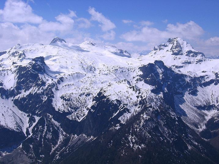 Foto: Andreas Koller / Ski Tour / Vom Zauchensee auf den Schwarzkopf (2263m) / Mosermandl (2680 m) und Faulkogel (2653 m) im W / 16.05.2008 02:54:47