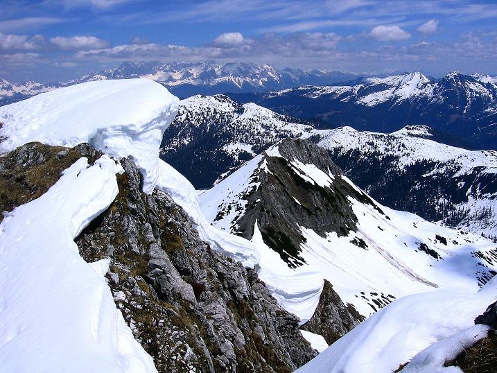 Foto: Andreas Koller / Ski Tour / Vom Zauchensee auf den Schwarzkopf (2263m) / Im Gipfelbereich / 16.05.2008 02:53:45
