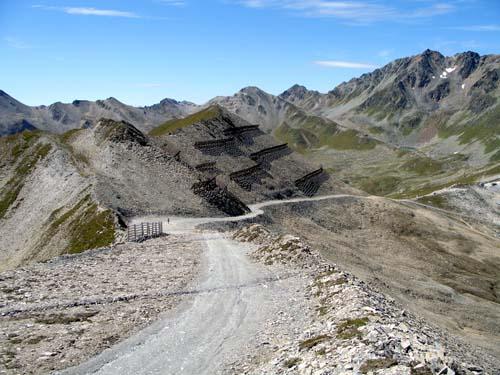 Foto: vince 51 / Wander Tour / Von Serfaus auf den Pezid / Rückblick auf die Piste / 16.05.2008 22:55:53