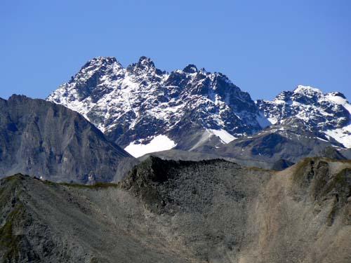 Foto: vince 51 / Wander Tour / Von Serfaus auf den Pezid / Zoom zu den Fluchthörnern 3999m (Silvretta) / 16.05.2008 22:37:53