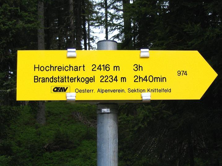 Foto: Andreas Koller / Wander Tour / Durch den Brandstätter Graben auf den Maierangerkogel (2356m) / Ausgangspuntk P 4 im Ingeringtal / 20.05.2008 00:45:14