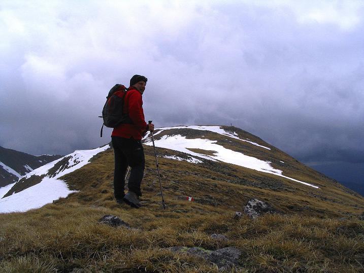 Foto: Andreas Koller / Wander Tour / Durch den Brandstätter Graben auf den Maierangerkogel (2356m) / Nur mehr wenige Höhenmeter zum Gipfel / 20.05.2008 00:35:35